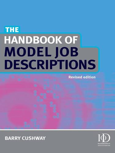 The Handbook of Model Job Descriptions