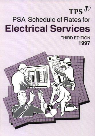 Schedule of Rates for Electrical Services