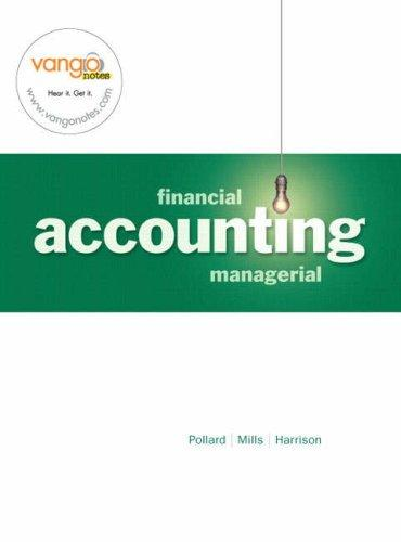 Download Financial and Managerial Accounting