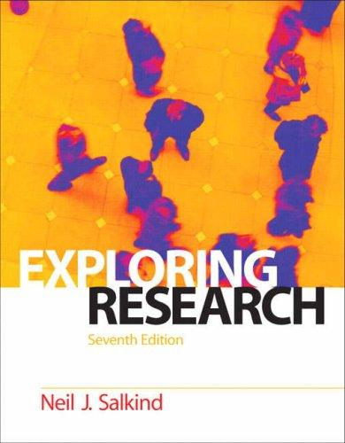 Download Exploring Research (7th Edition)