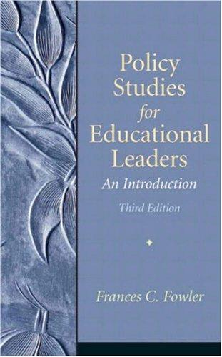 Download Policy Studies for Educational Leaders