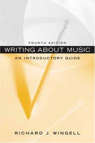 Download Writing About Music
