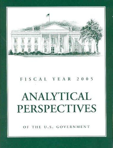 Download Budget of the United States Government, Fiscal Year 2005
