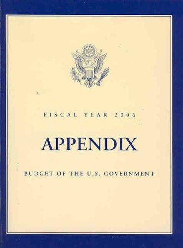 Budget of the United States Government, Fiscal Year 2006