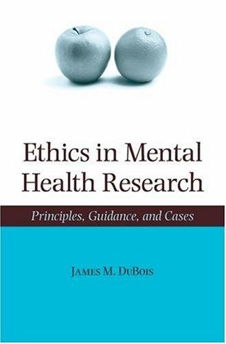 Download Ethics in Mental Health Research