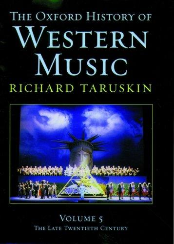 Download The Oxford History of Western Music