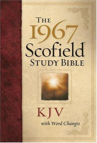 Download The 1967 ScofieldRG Study Bible, KJV, with Word Changes