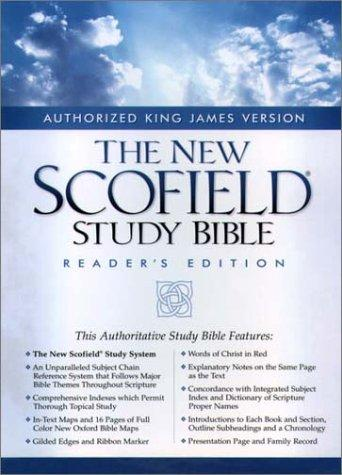 Download The New ScofieldRG Study Bible, KJV, Special Reader's Edition