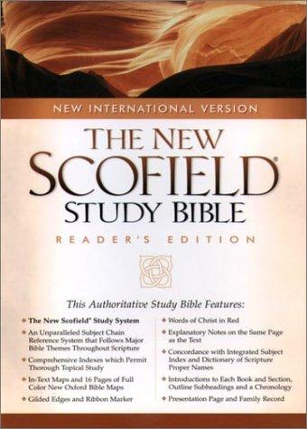 Download The NIV ScofieldRG Study Bible, Special Reader's Edition