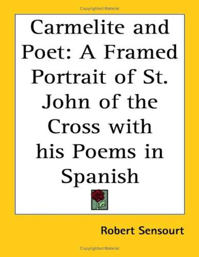 Download Carmelite and Poet