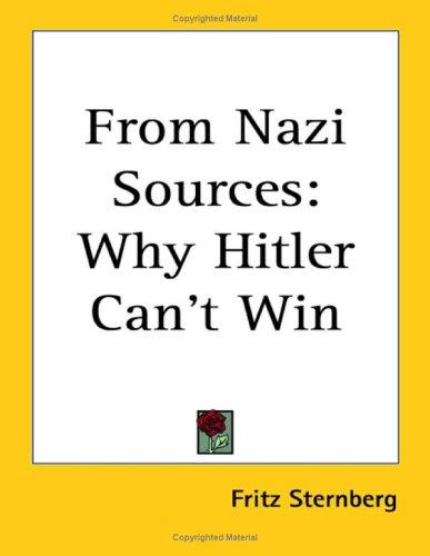 From Nazi Sources