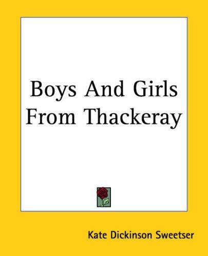 Download Boys And Girls From Thackeray