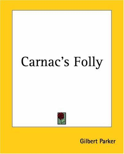 Download Carnac's Folly