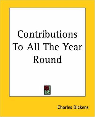 Download Contributions To All The Year Round