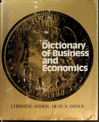 Download Dictionary of business and economics