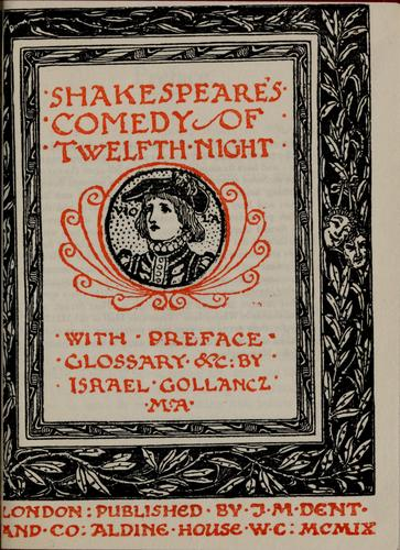 Download The Temple Shakespeare / with preface, glossary & etc. by Israel Gollancz