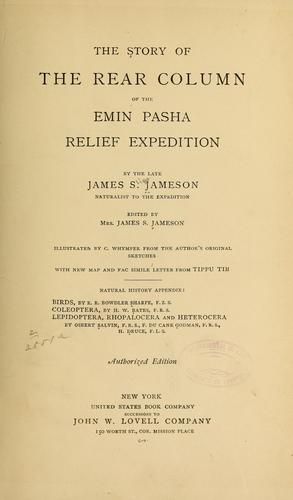 Download The story of the rear column of the Emin Pasha Relief Expedition