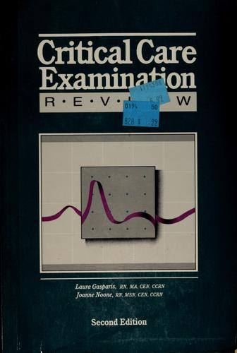 Download Critical care examination review
