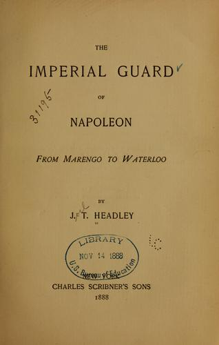 Download The Imperial guard of Napoleon