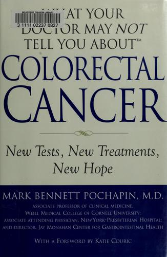 Download What your doctor may not tell you about colorectal cancer