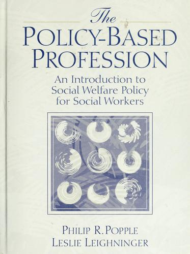 Download The policy-based profession