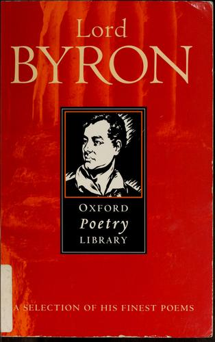 Byron by Lord Byron