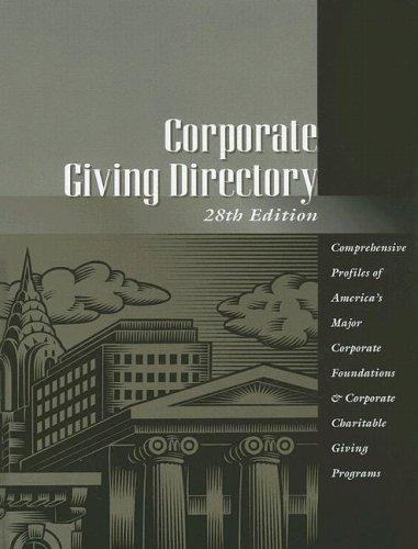 Download Corporate Giving Directory (Taft Corporate Giving Directory)