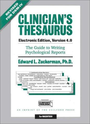Download Clinician's Thesaurus, Electronic Edition