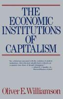 Download The economic institutions of capitalism
