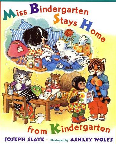 Download Miss Bindergarten stays home from kindergarten