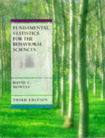 Download Fundamental statistics for the behavioral sciences