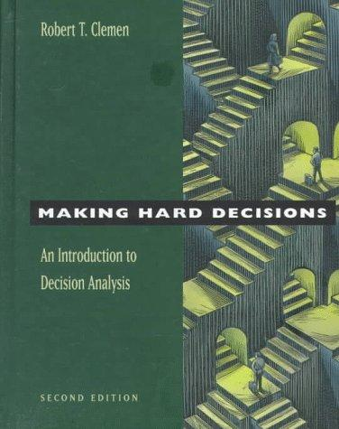 Download Making hard decisions