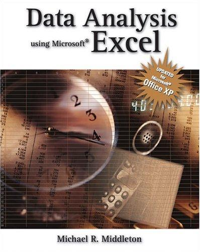 Download Data analysis using Microsoft Excel