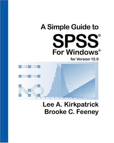 Download A simple guide to SPSS for Windows