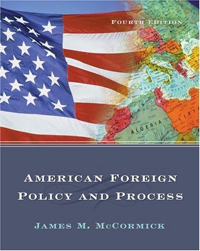 Download American foreign policy and process