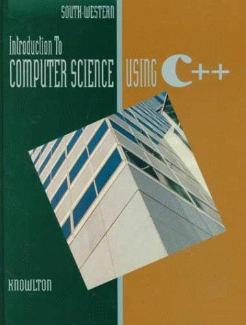Download Introduction to computer science using C++