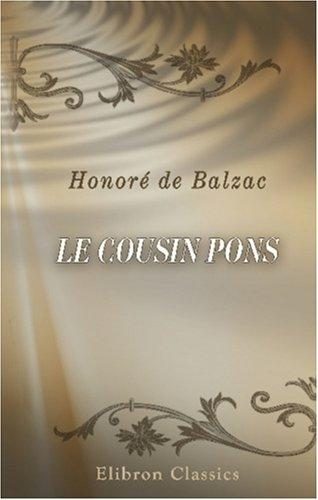 Le Cousin Pons by Honoré de Balzac