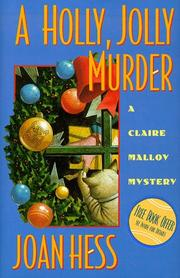 A Holly Jolly Murder (Claire Malloy Mysteries, No. 12)