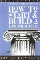 Download How to start and build a law practice