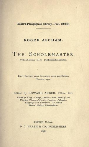 Download The schoolmaster