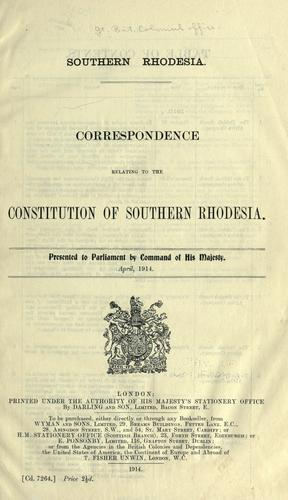 Download Southern Rhodesia.