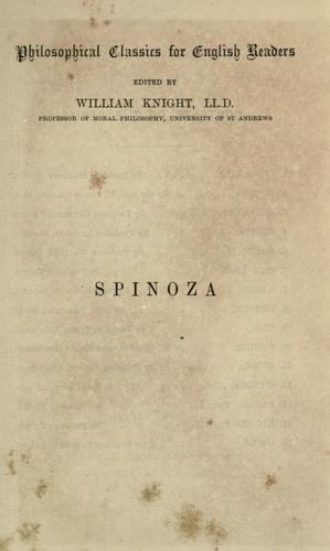 Download Spinoza