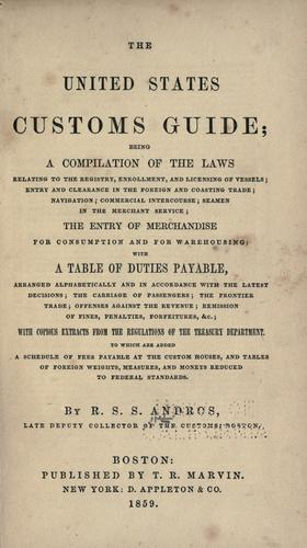 Download The United States customs guide