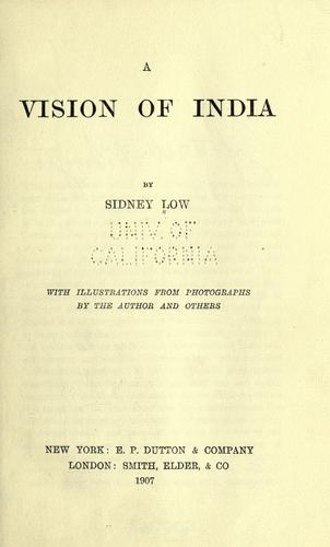 Download A vision of India
