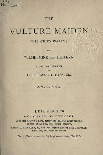 The Vulture-Maiden