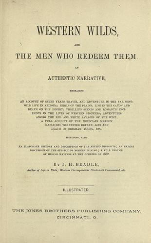 Download Western wilds and the men who redeem them
