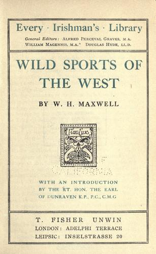 Download Wild sports of the West