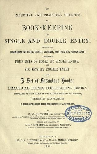 Download An inductive and practical treatise on book-keeping by single and double entry