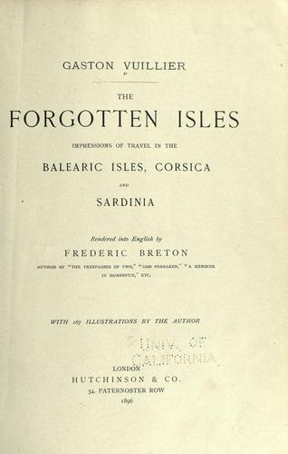The forgotten isles