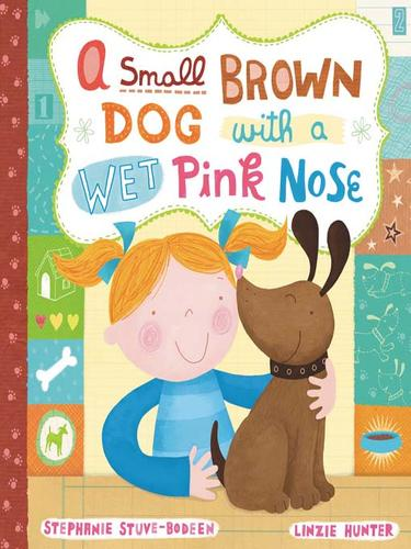 A small, brown dog with a wet, pink nose by S. A. Bodeen